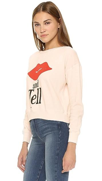 Wildfox Kiss And Tell Sweatshirt