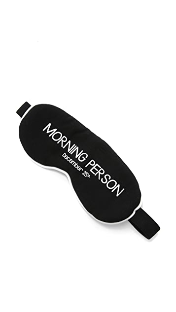 Wildfox Morning Person Sleep In Eye Mask