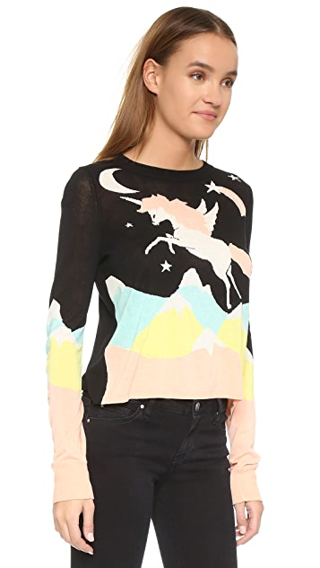 Wildfox Land Faraway Opal Sweater