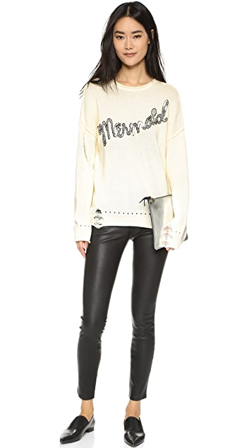 Wildfox Mermaid Bloomy Sweater
