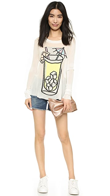 Wildfox Sunspiked Piper Sweater