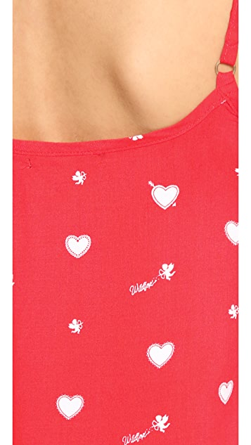 Wildfox Cupid Hearts Cami Sleep Set