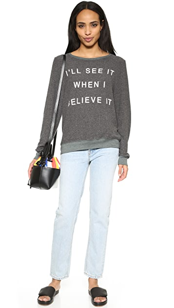Wildfox If You Believe It Sweatshirt