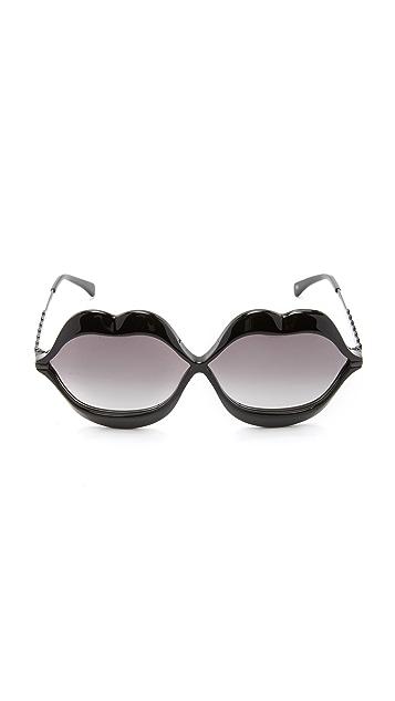 Wildfox Lip Service Sunglasses