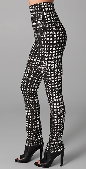 Willow Print High Waisted Pants