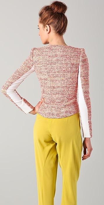 Willow Sunset Weave Biker Jacket