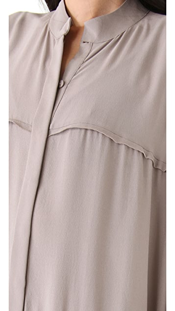 Willow Button Through Oversized Dress