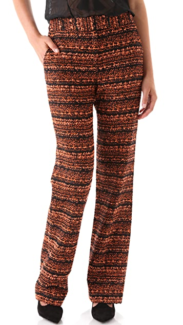 Willow Woven Wide Leg Trousers