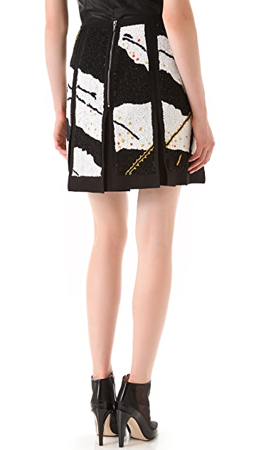 Willow Embellished Panel Skirt