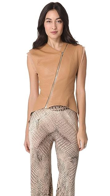 Willow Leather Desert Vest