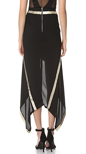 Willow Metal Spine Skirt