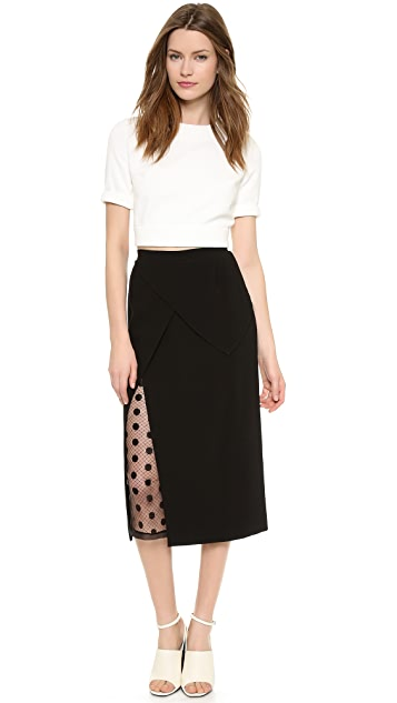 Willow Lace Insert Skirt