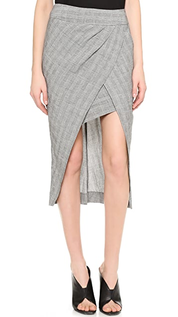 Willow Check Skirt