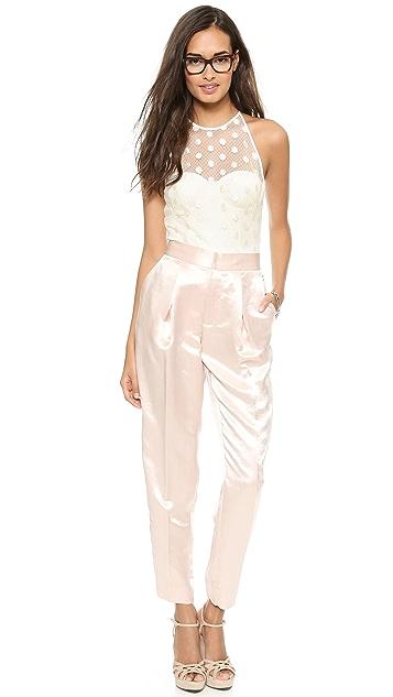 Willow Dot Lace Bodysuit
