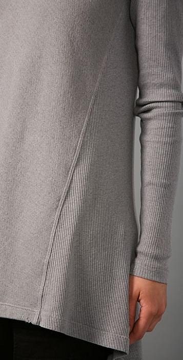 Wilt Distressed Vintage Fleece Top