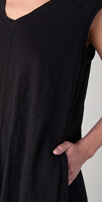 Wilt Uneven V Neck Dress