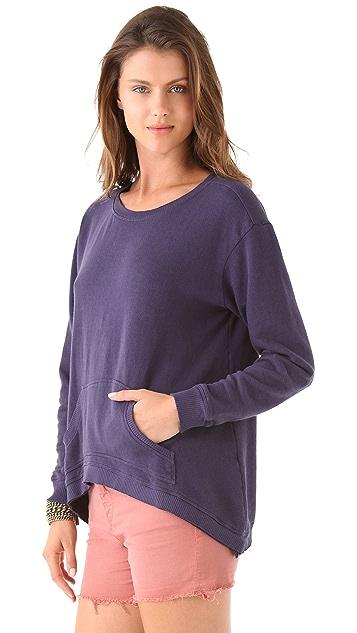 Wilt Shrunken Slouch Pocket Sweatshirt
