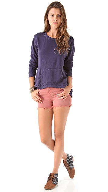 Wilt Shrunken Slouch Pocket Sweatshirt