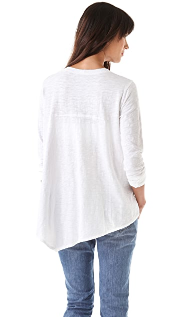 Wilt Long Sleeve Back Slant Tee