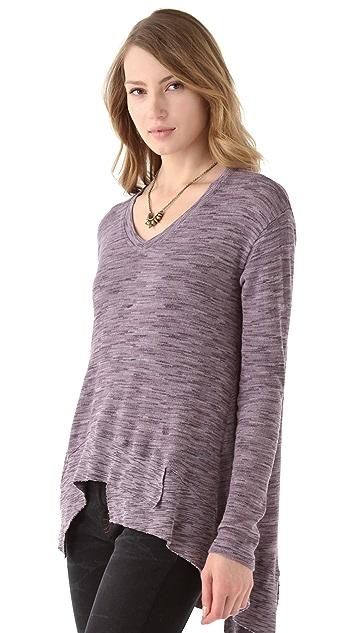 Wilt Boxy Space Dye Sweater
