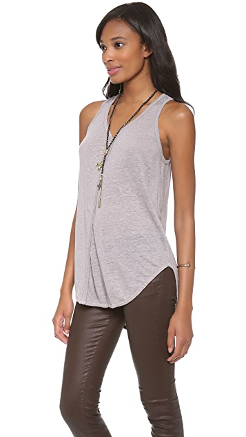 Wilt Twist Shrunken Shirttail Tank