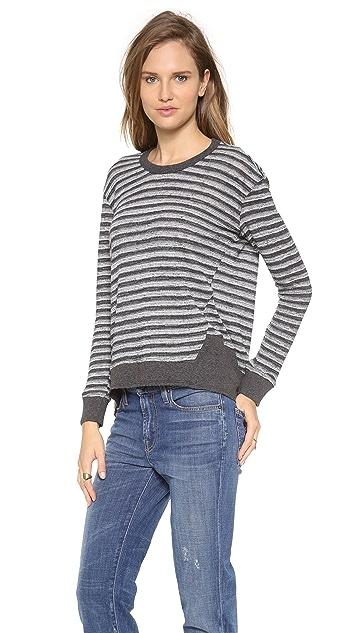 Wilt Long Sleeve Stripe Top