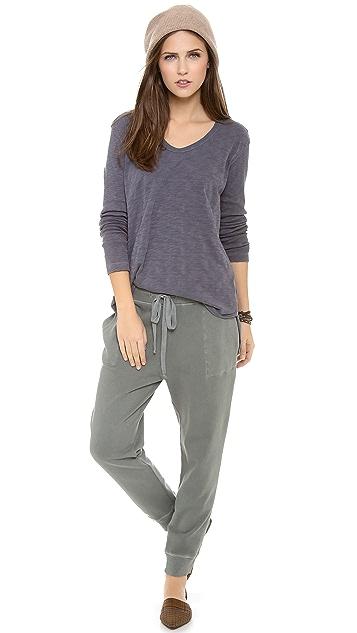 Wilt Long Sleeve Shirttail Top