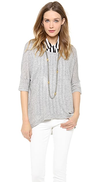 Wilt Dolman Elbow Sleeve Top