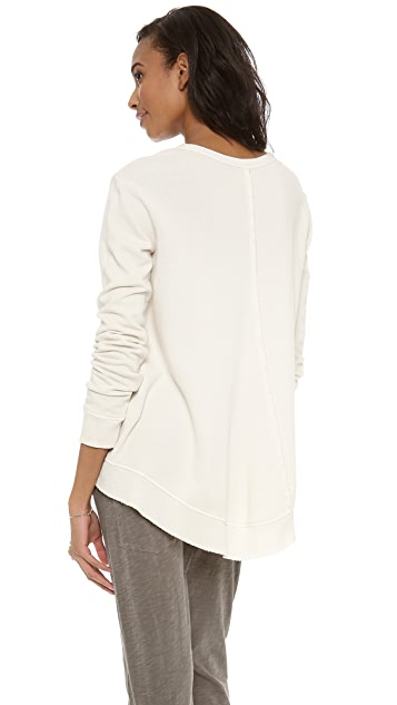 Wilt Twisted Seam Shrunken Sweatshirt