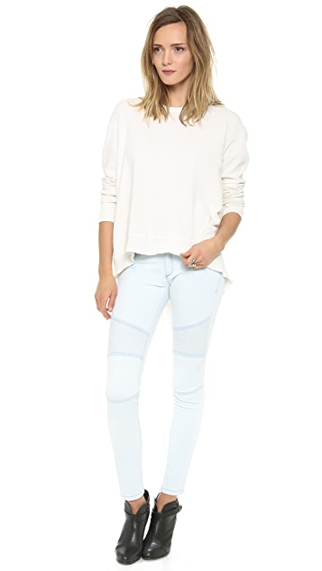 Wilt Basic Big Backslant Sweatshirt