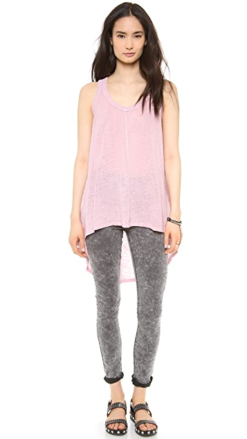 Wilt Slouchy Lux High Low Tank