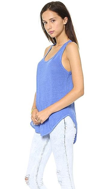 Wilt Lux Slouchy Shirttail Tank