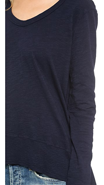 Wilt V Neck High Low Tee