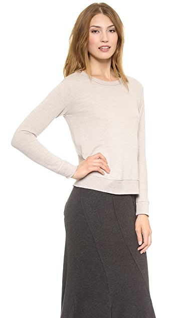 Wilt French Terry Vented Sweatshirt
