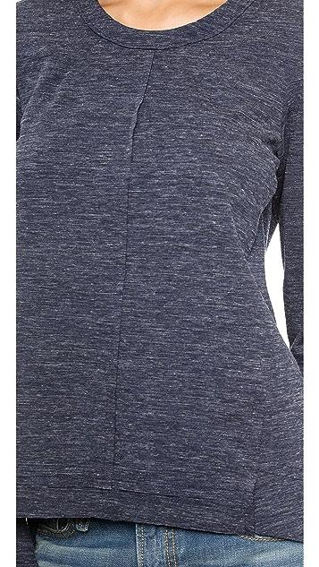 Wilt Raw Ponte Sweatshirt