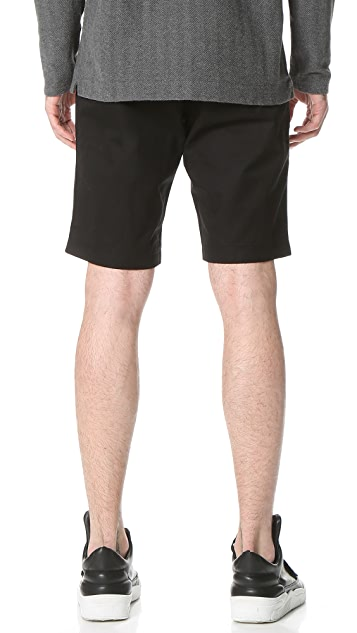 Wings + Horns Twill Shorts