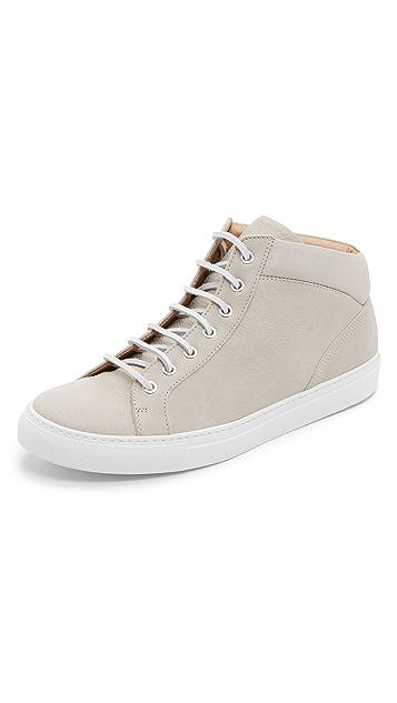Wings + Horns Leather Mid Top Sneakers