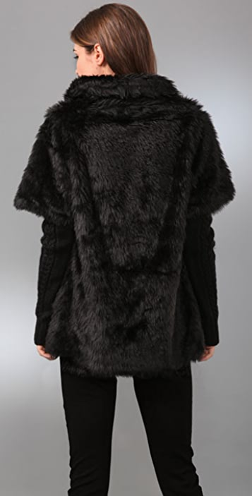 Wink Leidy Faux Fur Coat