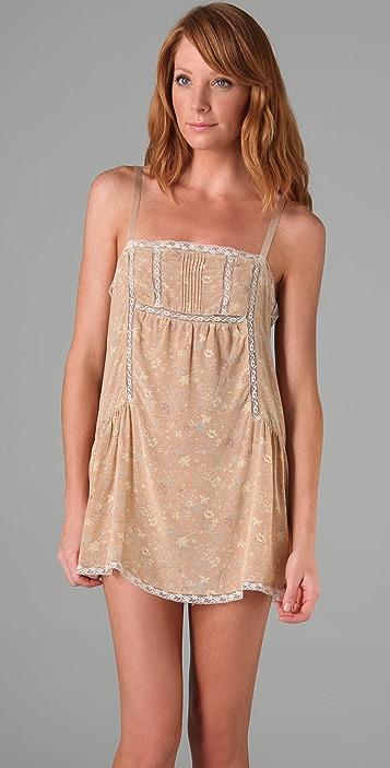 Winter Kate Oakleaf Floral Dress