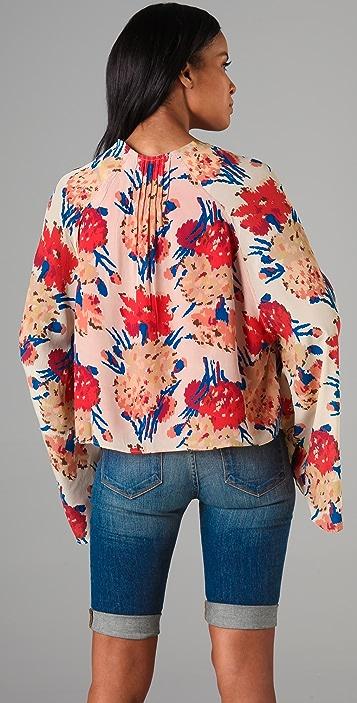 Winter Kate Roque Floral Shrug