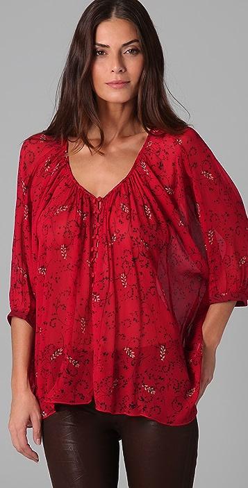 Winter Kate Tiger Lily Shirt