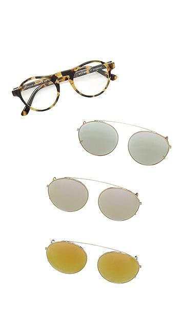 Westward Leaning Dyad 6 Clip Sunglasses