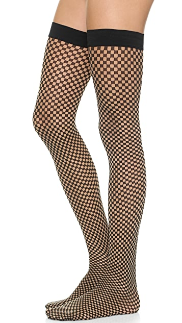 Wolford Niki Stay Up Tights