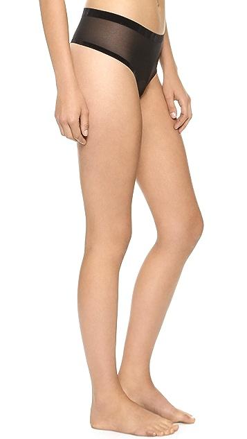 Wolford Tulle String Panties