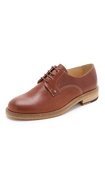 Wolverine 1883 Henrik Leather Plain Toe Oxford Shoes