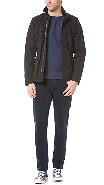 Won Hundred Dean Charcoal Jeans