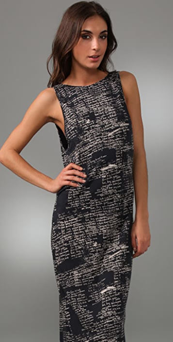 Woodford & Co Scribble Tank Dress