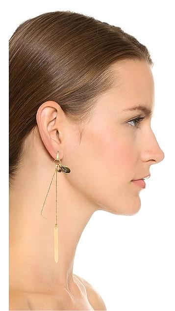 Wouters & Hendrix Triangular Pendant Earring
