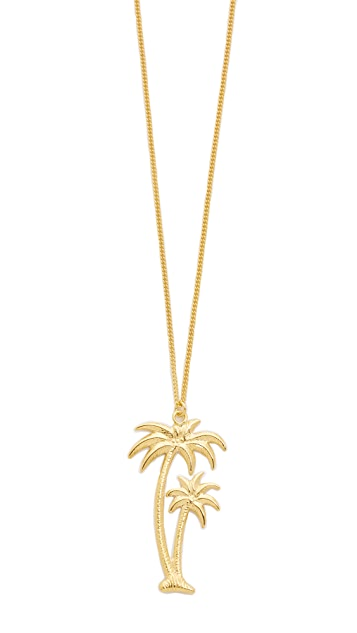 Wouters hendrix palm tree pendant necklace shopbop wouters hendrix palm tree pendant necklace mozeypictures Gallery