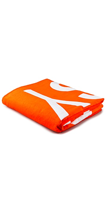 WOW! Rirkrit Tiravanija Double Beach Towel